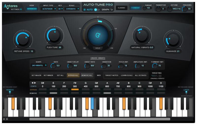 Antares AutoTune Pro v9.2 Crack + Keygen With Serial Key Download