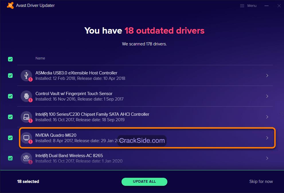 avast-driver-updater-registration-code