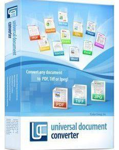Universal Document Converter Crack