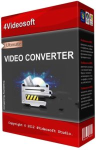 4Videosoft Video Converter Ultimate Crack
